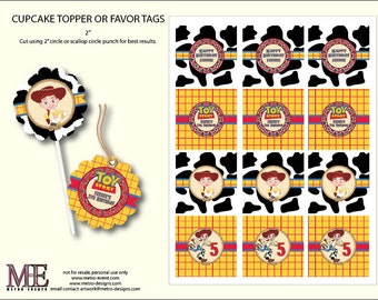 Toy Story, Jessie Favor Tags
