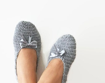 What color do you like ribbon , Grey Healthy Booties Home slippers