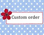 Custom order of pin badges