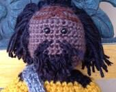 Worf the Klingon Crochet Pattern
