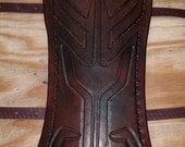 Leather Armor Deluxe Twilight Princess Link Bracers