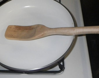 Hand Crafted Tiger Maple Cooking Utensil
