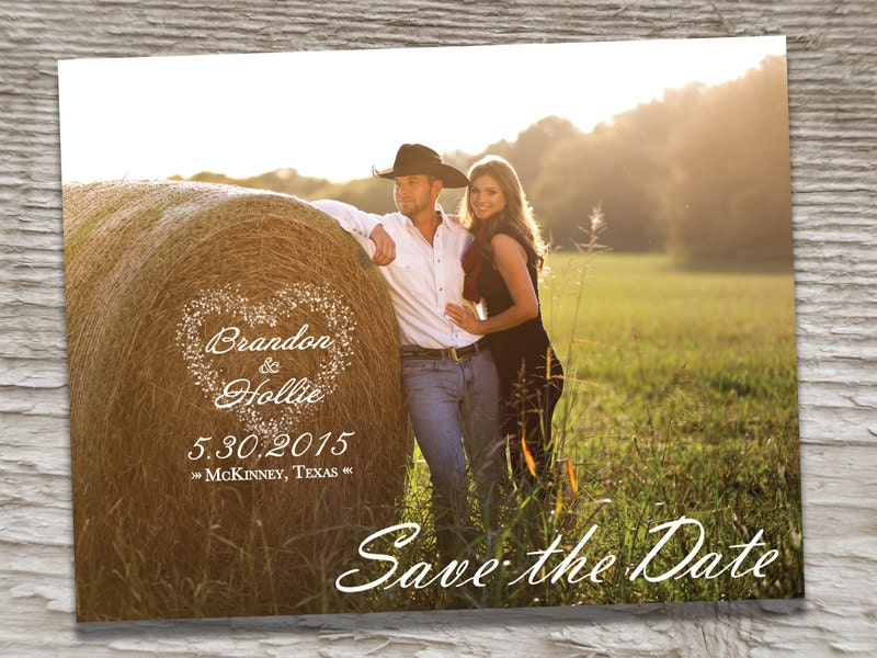 Wedding Save The Date Postcards: Wedding Save The Dates Photo Magnets Postcards Cards Invites