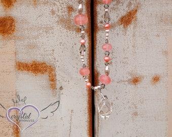 SALE - Swarovski Crystal and Quartz Necklace
