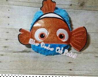 CLOWN fish 3D OS Cloth diaper Pocket