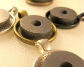 Art Button Magnetic Pendant Base
