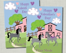 Horse Valentine Girl Printable Classroom Exchange PDF file