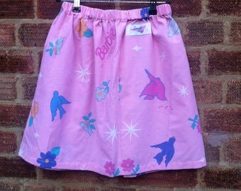Upcycled Barbie Skirt
