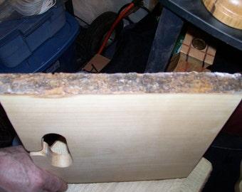 Cutting Board, Natural Edge Maple