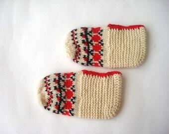 SALE toddler kid child knitted slippers socks, children slippers socks, crochet kids booties socks, toddler children shoe size 6 7 8