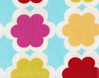 ℳ Dena Designs 100% Cotton Large Print Designer Collection 45 inches wide DF90 Tarika in Gem fabric by the yard, 1 yard