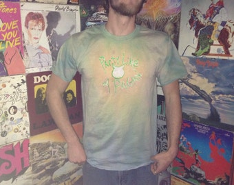 Party like a Pagan horned god hand dyed shirt size L