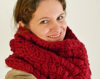 Crochet Pattern - Valencia Snood, Crochet Cowl Pattern, crochet cowl scarf pattern, crochet snood pattern, crochet hooded cowl pattern