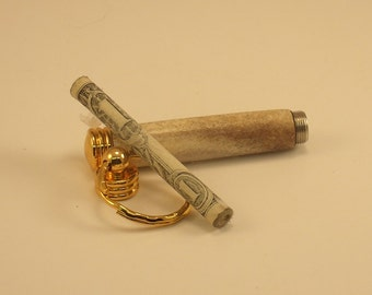 Popular items for turned keychain on etsy - Toothpick holder for purse ...