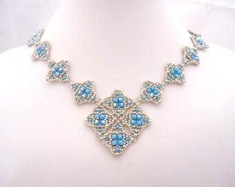 Mailye Necklace and  Bracelet Tutorial by Jenny Sangster