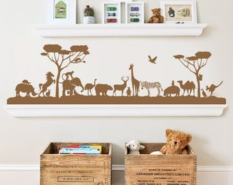 Jungle Zoo - Wall Decal