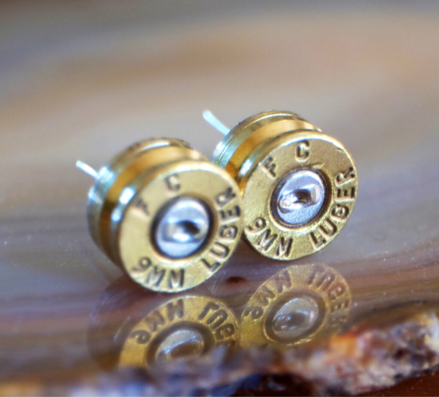 police wedding rings harley davidson wedding rings 9mm Bullet Earring Studs Police Glock Jewelry Cop Wife Ear Ring Stud Camo Wedding Earrings Harley Davidson Camo Ring