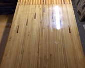 Reclaimed Maple Bowling Lane Wood with Arrows - great for dining table, counter, desk, bar, conference table, kitchen island, etc.