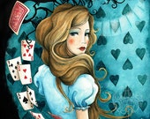 Alice (from Alice in Wonderland) - open edition Art Print