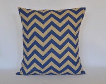 Blue  Decorative Pillow,  Premier prints pillow, cushion cover, lumber pillow, eurosham, accent pillow, throw pillow