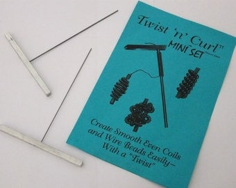 Twist n Curl Mini Wire Coilers 2 Pack  SALE