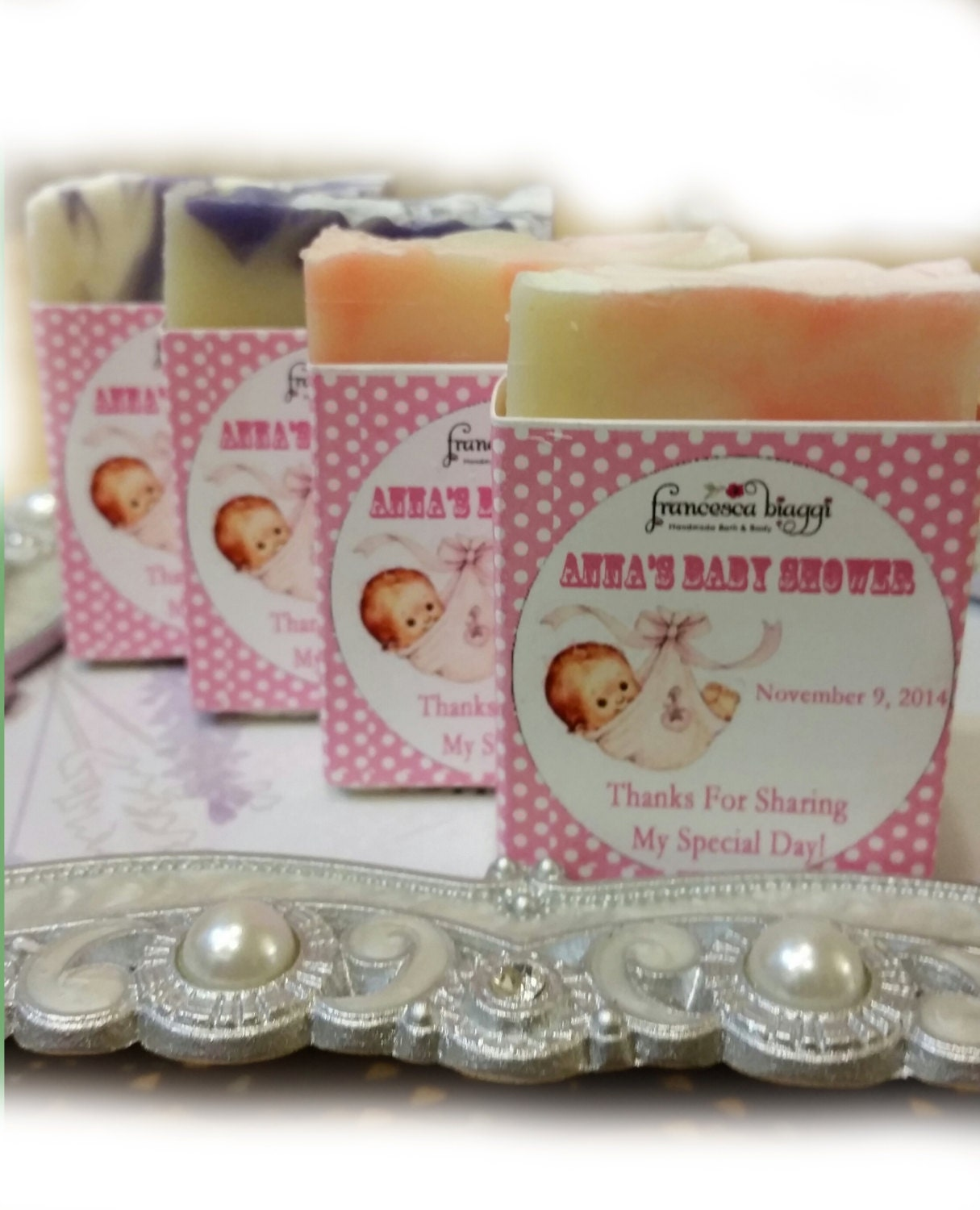 baby shower soap favors shower favors baby by francescabiaggi