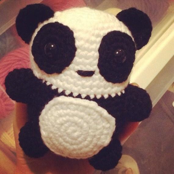 Crochet Panda amigurumi plush