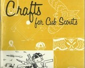 Crafts for Cub Scouts - Boy Scouts of America, Pow Wow Series, Vintage Craft Book, 1960's Craft, Crafting with Children