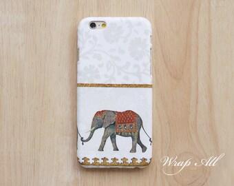 Elephant on White iPhone SE case iPhone 6S case iPhone 6 case iPhone 5S case iPhone 5 case iPhone 5C case iPhone 4S case iPhone 4 case