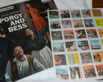 Old vinyl album  George Gershwins PORGY AND BESS