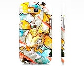 Samsung Galaxy s3 case - japanese koi fish art - Galaxy s3 case - watercolor and ink art - cell phone case - cute phone case
