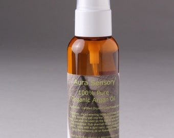 Organic Argan Oil - Argan Oil for Face - Argan Oil Hair - Pure Undiluted Argan Oil