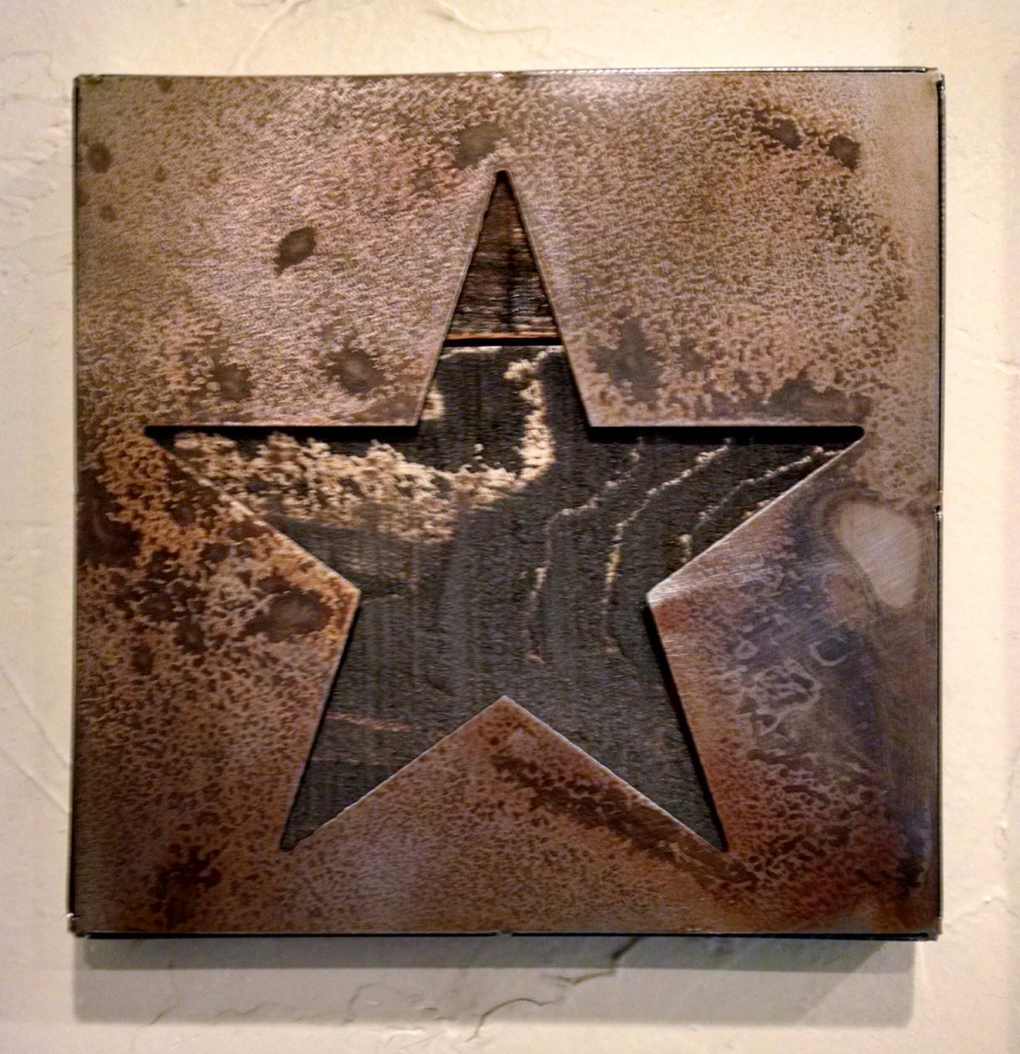 Wall Art Metal Stars : Star wall art patriotic metal by legendaryfineart