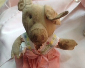 Mary the Pig Ornament