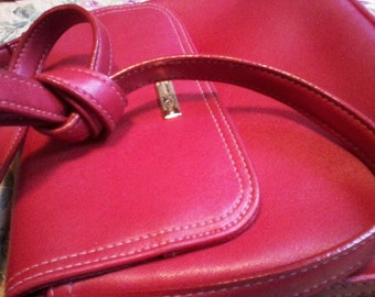 Liz Claiborne Lipstick Red Bag