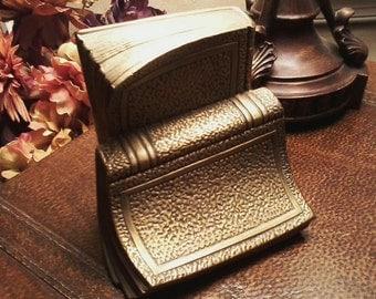 Brass Book Bookend