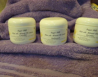 Aloe and Sweet Almond Oil Lotion