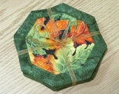 Quilted Autumn Coasters Shades of the Season 348