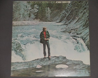 "John Denver - Rocky Mountain High - ""Seasons Suite"" - ""Mother Nature's Son"" - Folk Rock - Original RCA 1972 - Vintage VInyl LP Record Album"
