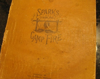 """Civil War book - """"Sparks From the Campfire"""""""