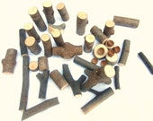 On Sale 15% Off - Tree Branch Blocks and Acorn Caps