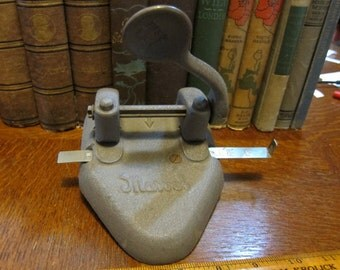 Vintage Marvel 2-Hole Punch by Wilson Jones Made in USA 1950's