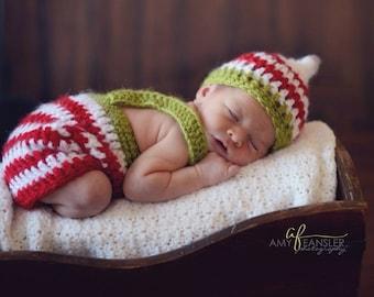 Crochet Elf Set