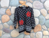 Vintage Rose Sweater - Reference Point by Dray