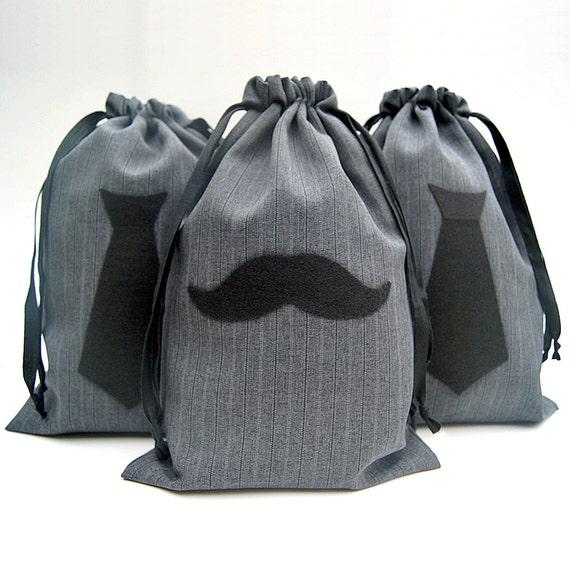 Wedding Gift Bags For Groomsmen : Groomsmen Gift Bag - Mens Gift Bag - Mens Gift Wrap - 8x12 Mustache ...