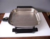 Items Similar To Sunbeam Stainless Steel Electric Fry Pan