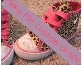Custom Order My little Pony Pinky Pie Kids Canvas Sneakers