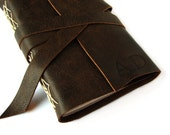 """Personalized Leather Journal or Sketchbook 4""""x6"""""""