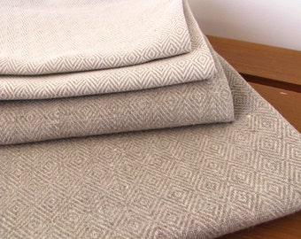 A Set of 2 Linen Tea Towels / Kitchen Towels
