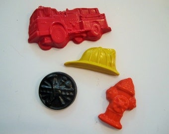 Fire Fighter crayons, party favors, goody bags, fire fighter party